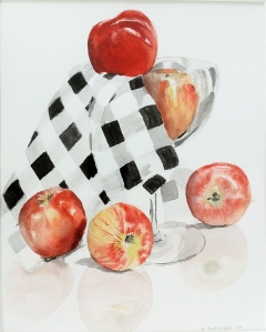 An apple a day Watercolor