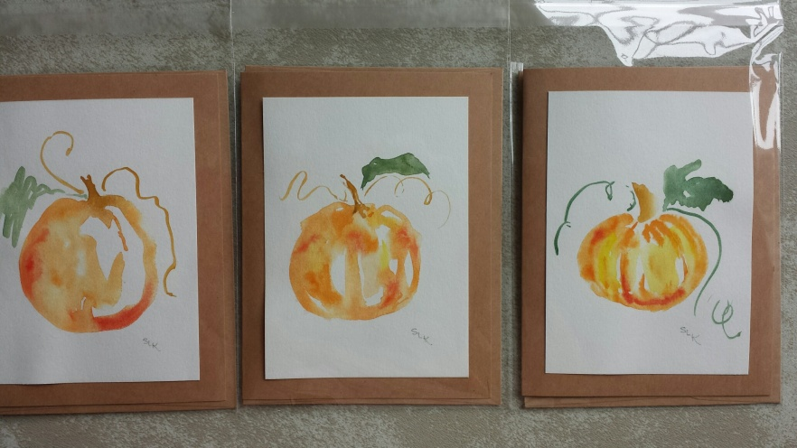 pumpkin cards